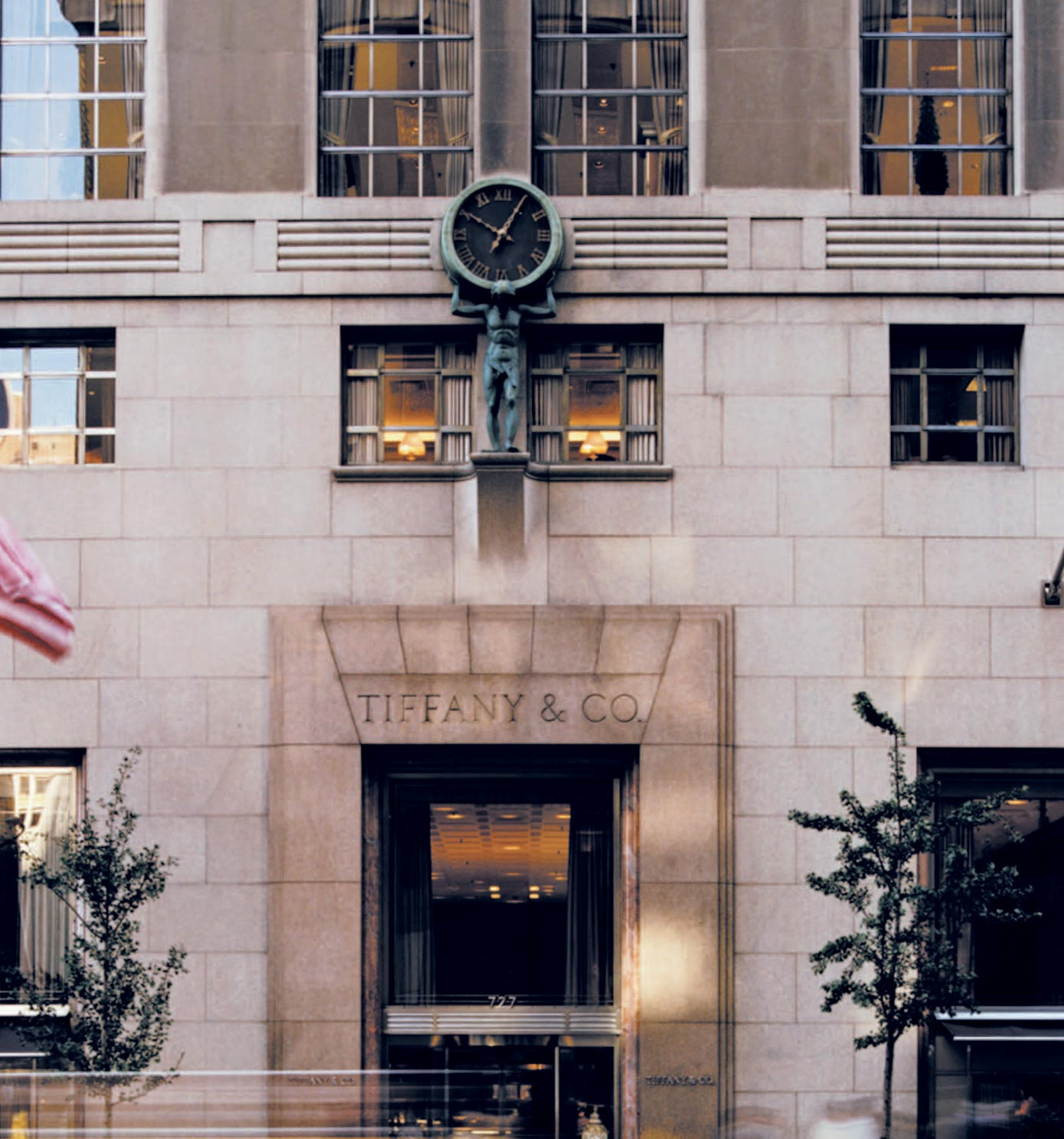 The Tiffany Flagship Store on Fifth Avenue